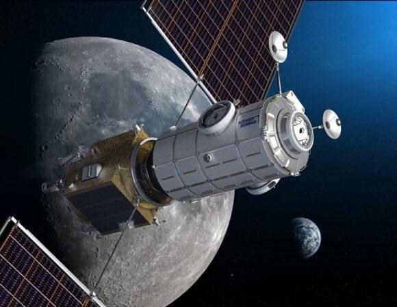 La reformada estación lunar Gateway de la NASA
