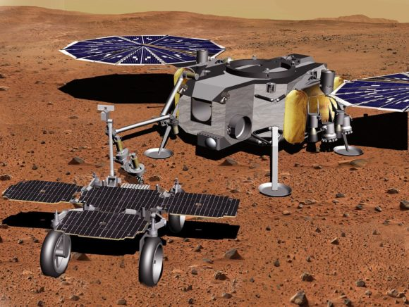 El rover europeo que recogerá las muestras de Perseverance en Marte