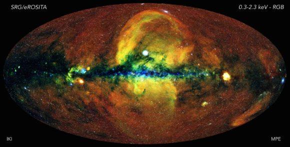 El cielo en rayos X de Spektr-RG