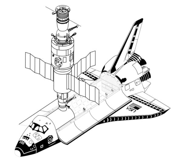 La misión Shuttle-Salyut que nunca fue
