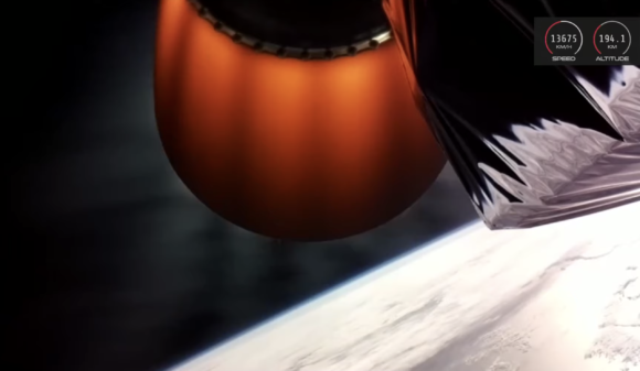 Fallo de la decimotercera misión del cohete Electron
