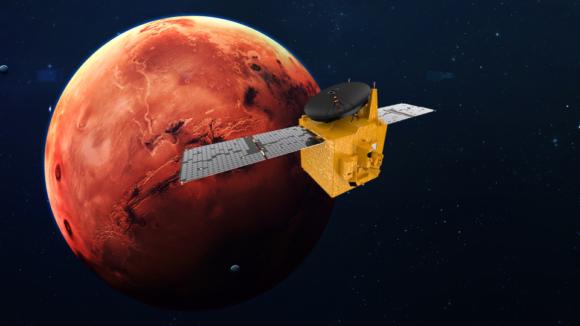 Lanzamiento de la sonda Al Amal de EAU rumbo a Marte