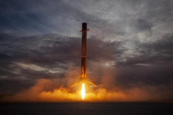 SAOCOM-1B: primer lanzamiento de un Falcon 9 a una órbita polar desde Florida