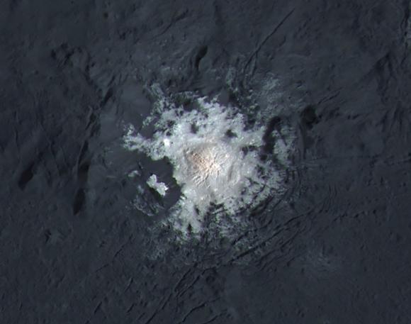 Ceres, el mundo océano que no debería existir