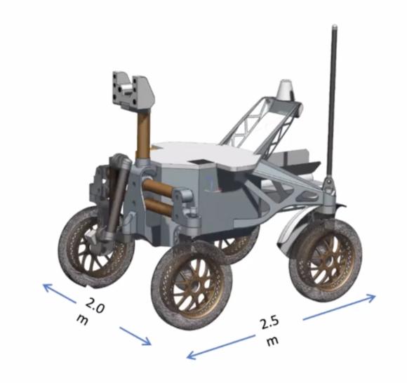 Intrepid, un rover nuclear para explorar la Luna
