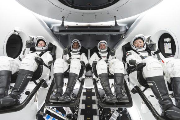 El sistema de soporte vital de la nave Crew Dragon de SpaceX