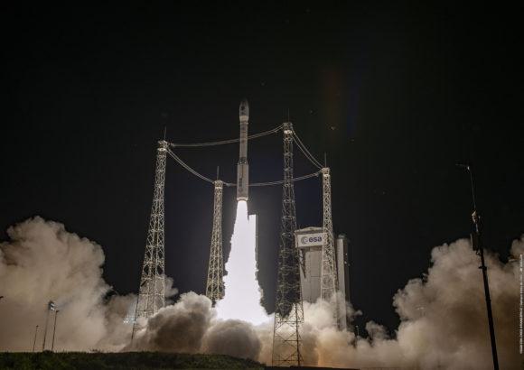 El regreso del cohete Vega: misión VV16 con 53 satélites