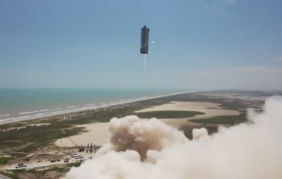 Y la SN6 voló: el segundo salto de la Starship