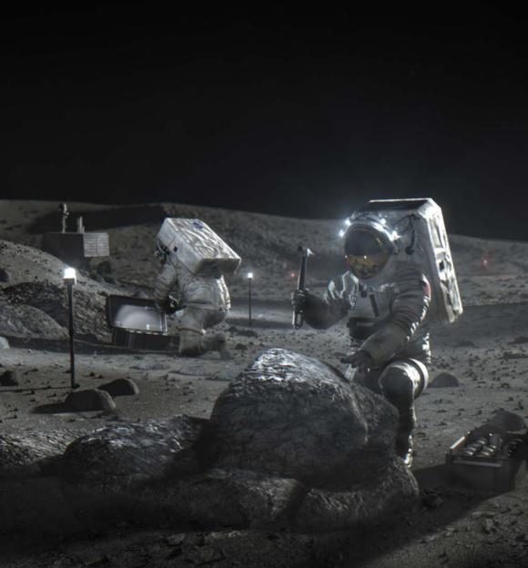 La NASA quiere privatizar la recogida de muestras lunares