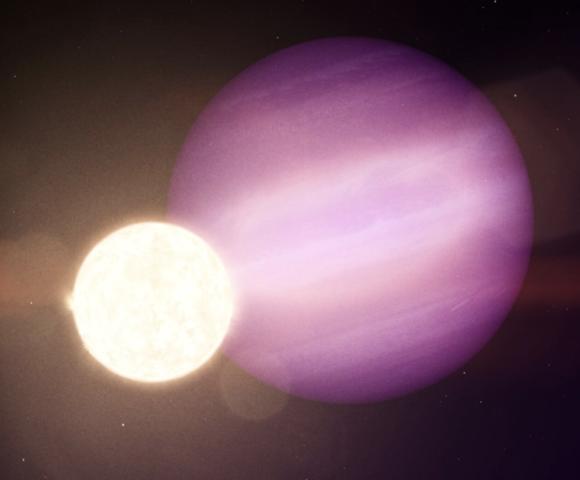 WD 1856 b: un planeta gigante muy cerca de una enana blanca