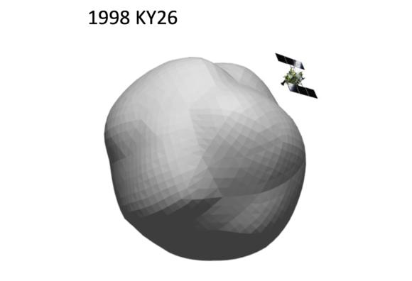 La sonda japonesa Hayabusa 2 explorará el pequeño asteroide 1998 KY26