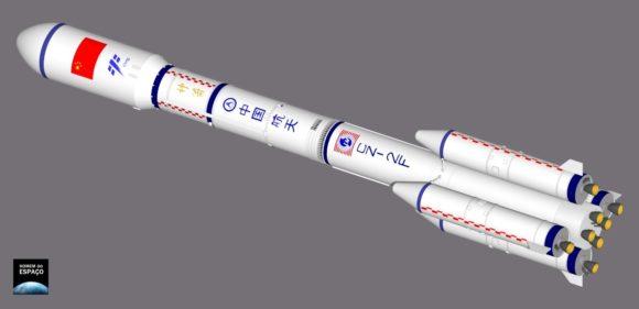 Primera misión de la misteriosa nave reutilizable china