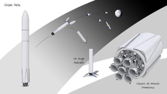 El cohete reutilizable Ariane Next, el Falcon 9 europeo