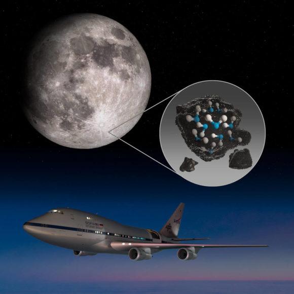 Descubierta —otra vez— agua en la Luna (ahora por SOFIA)