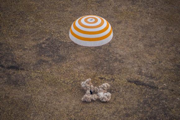 Regreso de la Soyuz MS-16