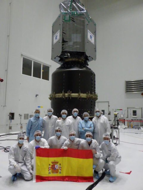 El satélite español Ingenio se pierde por culpa de un fallo del cohete Vega