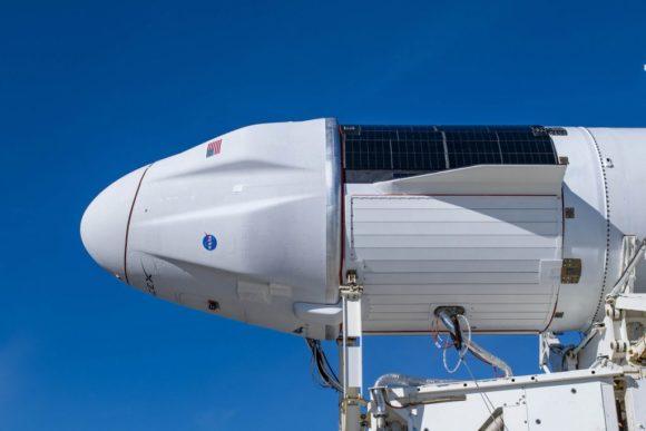 Lanzamiento y acoplamiento de la primera nave Dragon 2 de carga