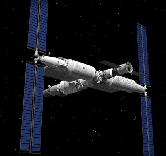 2021: el año de la nueva estación espacial china