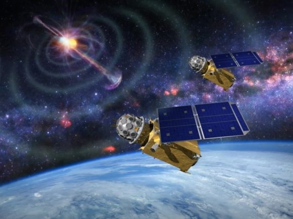 Lanzados los satélites chinos GECAM para buscar contrapartidas en rayos gamma de ondas gravitacionales