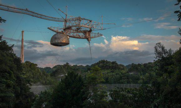 Adiós al radiotelescopio de Arecibo, un símbolo de la astronomía