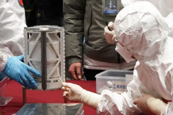 La importancia de los 1,7 kg de muestras lunares de la Chang'e 5