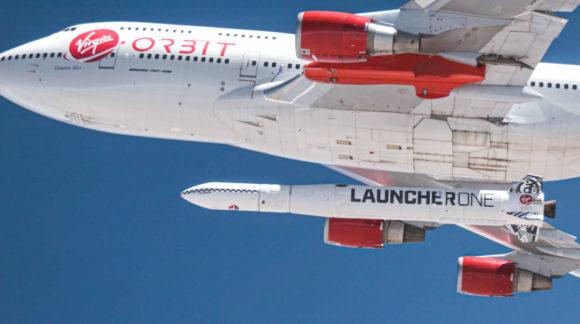 Primer lanzamiento exitoso del LauncherOne de Virgin Orbit
