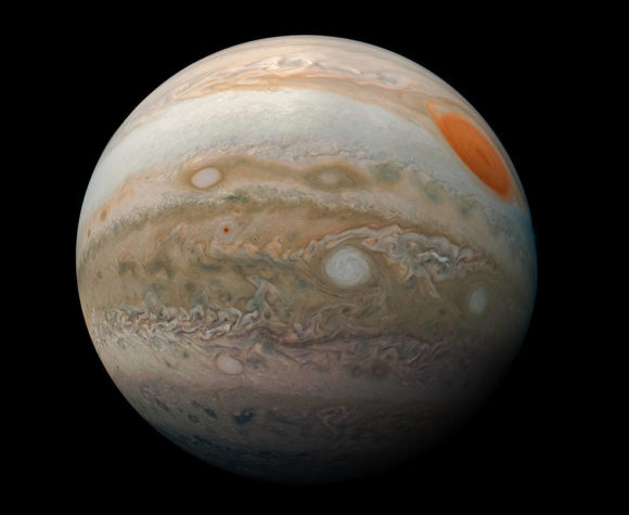 Juno seguirá desentrañando los secretos de Júpiter hasta 2025