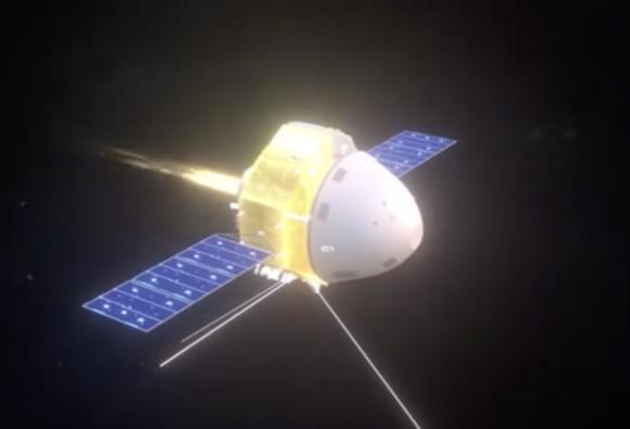 La sonda china Tianwen 1 llega a Marte