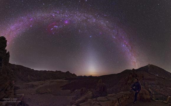 ¿Son las tormentas de polvo marcianas el origen de la luz zodiacal?