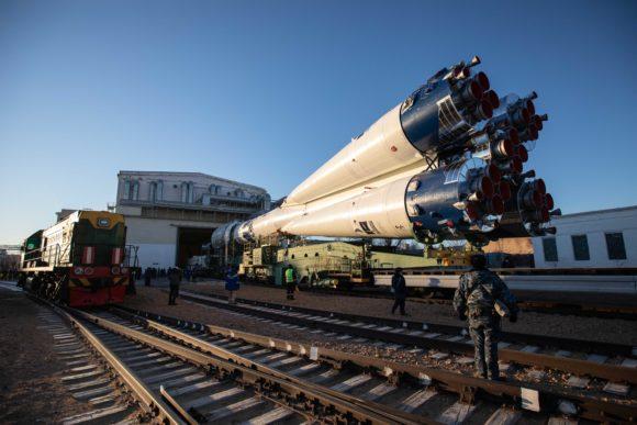 El primer Soyuz blancoazulado pone en órbita 38 satélites de 18 países
