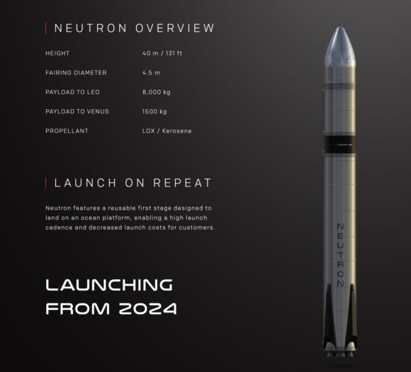 Neutron, el nuevo cohete de Rocket Lab