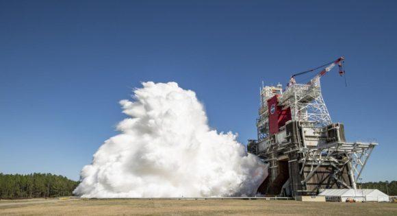 Éxito en la segunda ignición Green Run: el despertar del cohete SLS