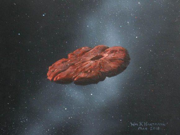 ¿Cómo de probable es que 'Oumuamua sea un trozo de hielo de nitrógeno?