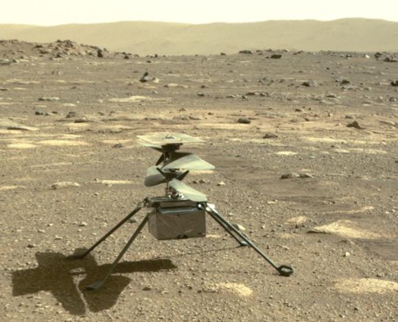 Todo listo para el vuelo de Ingenuity en Marte