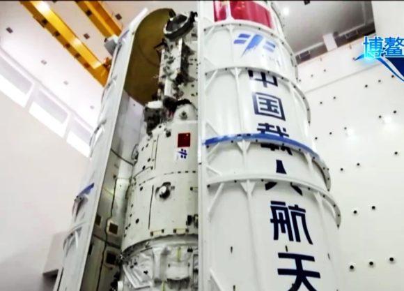 Las misiones a la estación espacial china en 2021 y 2022