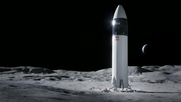 La NASA elige la Starship como el módulo lunar del programa Artemisa