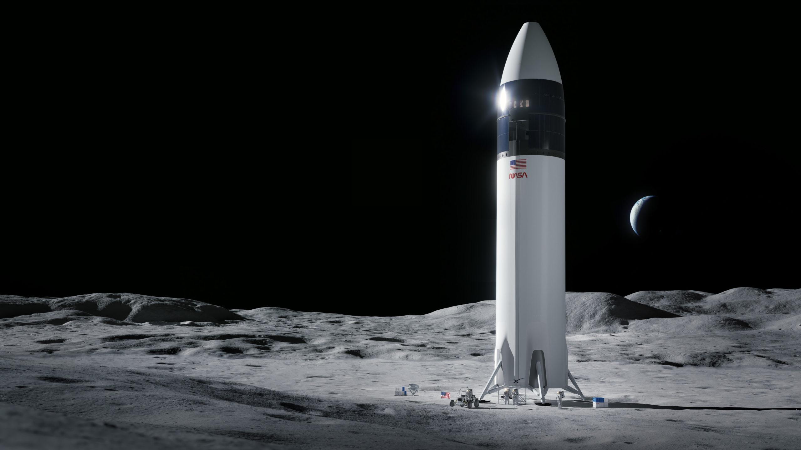 La NASA elige la Starship como el módulo lunar del programa Artemisa -  Eureka