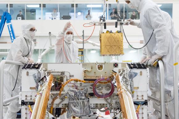 El experimento MOXIE de Perseverance fabrica oxígeno en Marte
