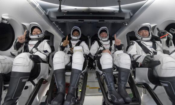 Regreso de la misión Crew-1