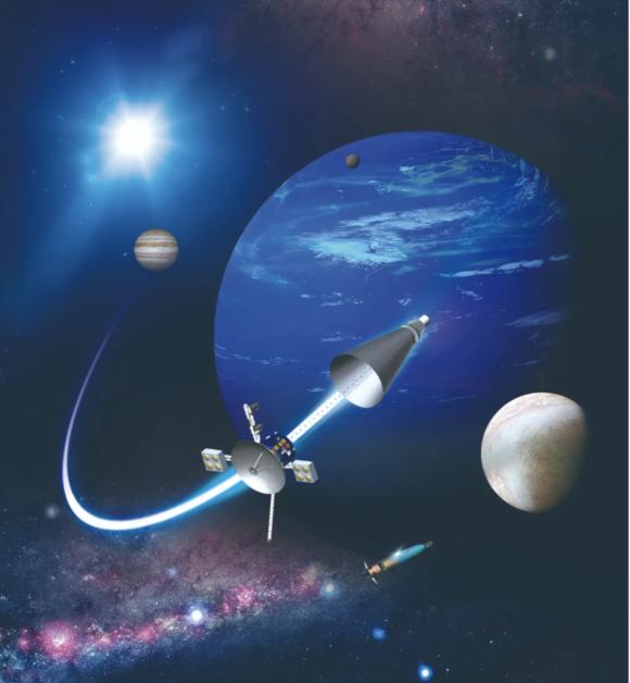Una sonda nuclear china a Neptuno