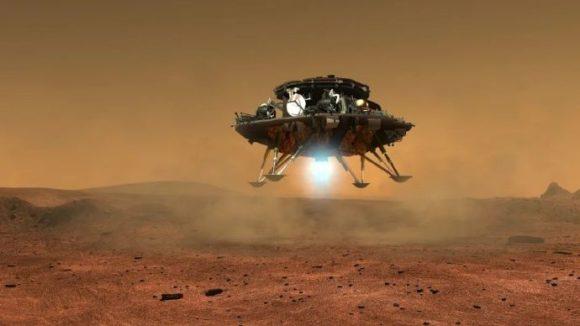 El rover Zhurong de la misión Tianwen 1 aterriza con éxito en Marte