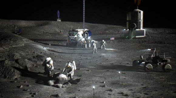 ¿Cuánto hielo tiene la Luna?