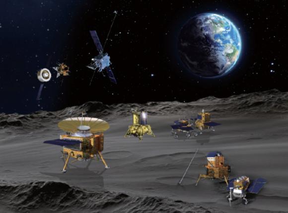 Más detalles de la base lunar ILRS de China y Rusia