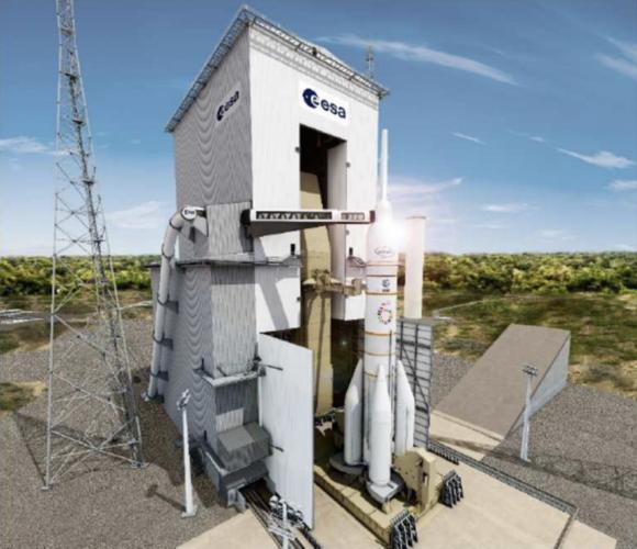 ¿Cómo sería un Ariane 6 tripulado?