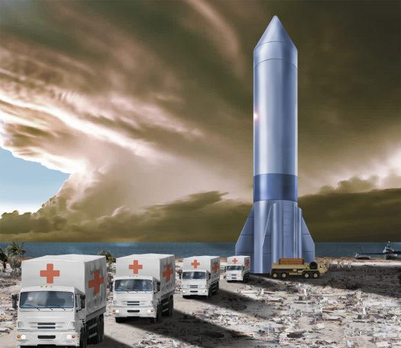 Rocket Cargo: el Pentágono busca un cohete para viajar por el mundo