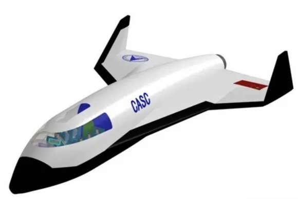 La misteriosa nave suborbital china