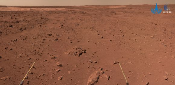 El rover chino Zhurong: cien días y mil metros en Marte