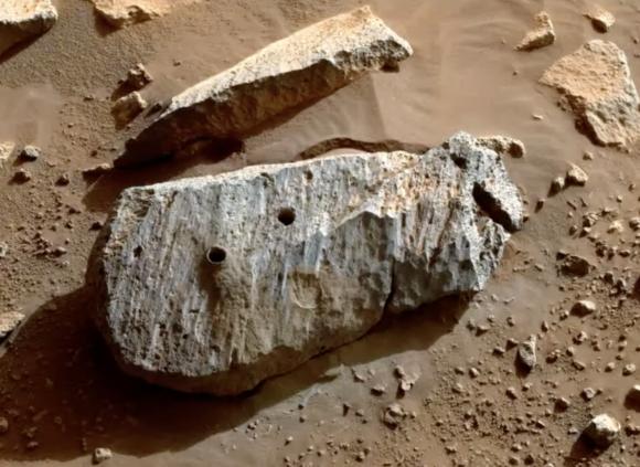 Perseverance consigue recoger las primeras muestras de Marte que serán enviadas a la Tierra