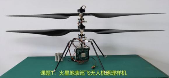 Un Ingenuity chino para volar por Marte