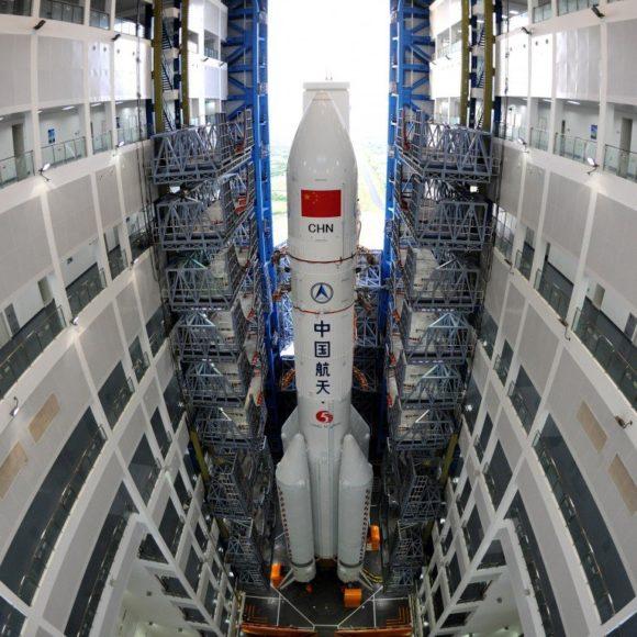 Intentando comprender la organización del programa espacial chino